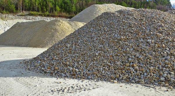 Steinbruch - Sand- und Schottergewinnung
