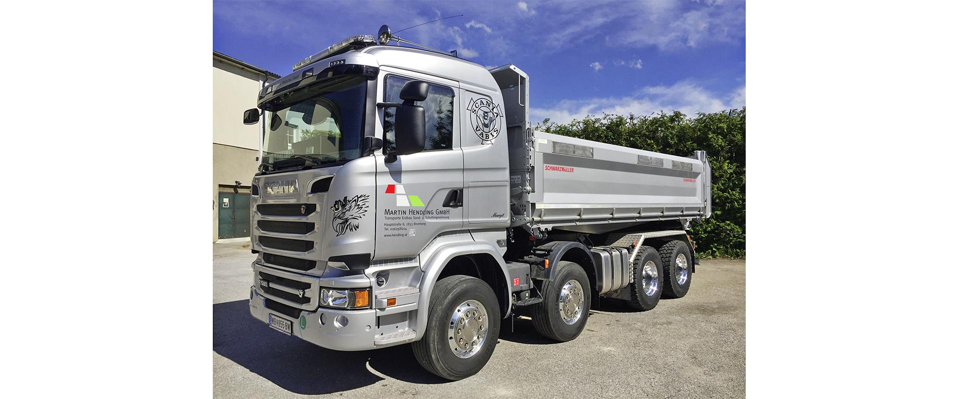 Scania R580 4-Achser LKW